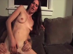 Skinny wife makes homemade porn with hubby videos