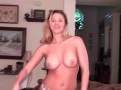 Solo blonde milf does a sexy striptease videos