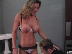 Fit babe kayla paige blows prison guard videos