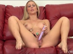 Naked milf cherie deville loves her vibrator videos