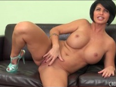 Milf shay fox shows off her big fake tits videos