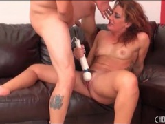Curvy redhead takes a pounding in her pussy videos