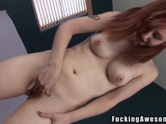 Redhead violet monroe fucked by a big dildo videos