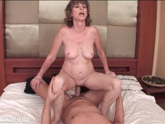 Mature rides and grinds on his hard dick movies at sgirls.net