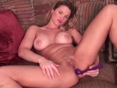 Vibrator makes this hot mom moan videos