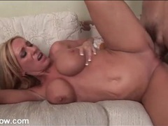 Blonde mom with nice boobs fucked in her box movies at adspics.com