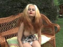 Cute mature models her big titties outdoors videos