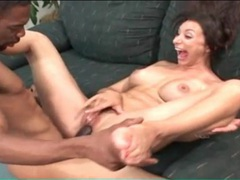 Monster cock fucks a milf as she moans videos