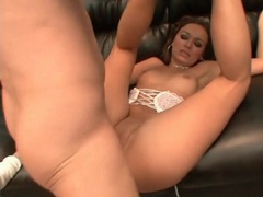 Tight shaved pussy of a hottie fucked hard videos