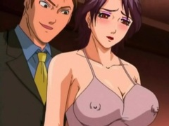 Business men fuck a busty anime prostitute videos