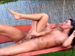 Outdoor anal fuck with a black haired girl movies at sgirls.net