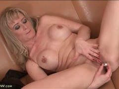 Mom nipples are hard as she masturbates movies at freelingerie.us