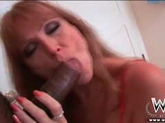 Milf darla crane gives good head to bbc videos