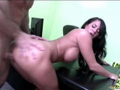 Babe bent over in porn office and fucked hardcore videos