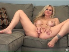 Sultry julia ann striptease and sensual masturbation videos