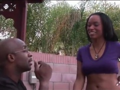 Big black cock sucked by an ebony girl videos