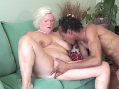 Fit black guy fucks voluptuous blonde mature videos