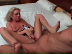 Rough sex makes blonde beg him for more videos