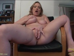 Curvy vicky vixen strips and rubs her pussy movies at kilopills.com