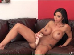 Fit milf jewels jade fucks a long dildo tubes