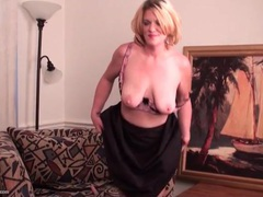 Solo blonde mature is a sultry treat videos
