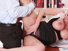 Secretary brooklyn chase fucked from behind videos