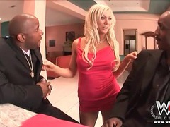 Slutty samantha sin sucks two black cocks movies at kilopics.net