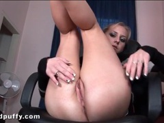Teen in sexy sweater plays with her cunt movies at sgirls.net