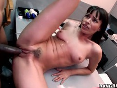 Dana dearmond fucks bbc in the office tubes