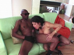 Milf pussy filled with big black cock videos