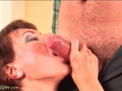 Stunningly skilled blowjob from mature babe videos