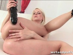 Teen fucks her tight asshole with big toys videos
