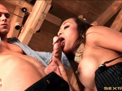Big veiny cock in her wet asian mouth videos