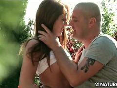 Erotic outdoor hardcore on a picnic table movies