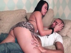 Slutty shemale kisses and blows her man movies at kilotop.com