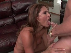 Milf monique fuentes gets horny and sucks dick videos