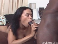 Chyanne jacobs sucks bbc and gets laid tubes