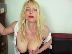 Curvy blonde milf in sexy seamed stockings movies at find-best-ass.com