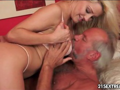 Old guy blown and fingered by blonde girl movies at sgirls.net