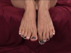 Foot fetish joi from lelu love videos