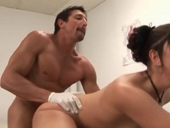 Doctor fucks hot asian patient doggystyle tubes at asian.sgirls.net