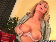 Curvy older woman fisted and fucked lustily videos