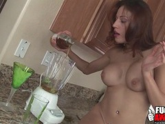 Tasty lime drink in the ass of layla rivera videos