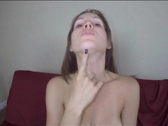 Lelu love dreams of having you cum in her mouth tubes