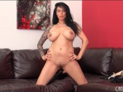 Tera patrick is stunning in sheer black panties videos