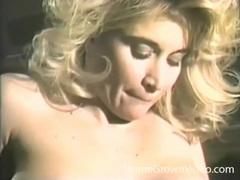 Beautiful blonde close up sex in vintage porn videos