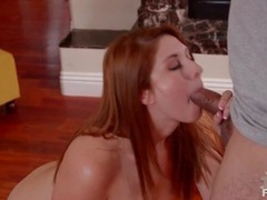 Redhead sucks dick and gets a facial movies at relaxxx.net