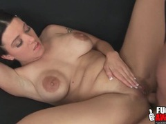Cute short hair cocksucker takes a facial videos