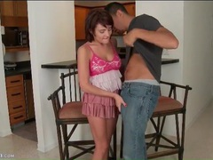 Chase ryder sucks dick in a short pleated dress videos