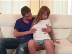 Teen seduction with kissing and cunt eating movies at adipics.com
